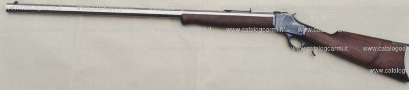 Carabina A. Uberti modello Winchester 1885 single shot rifle (mira regolabile) (10172)