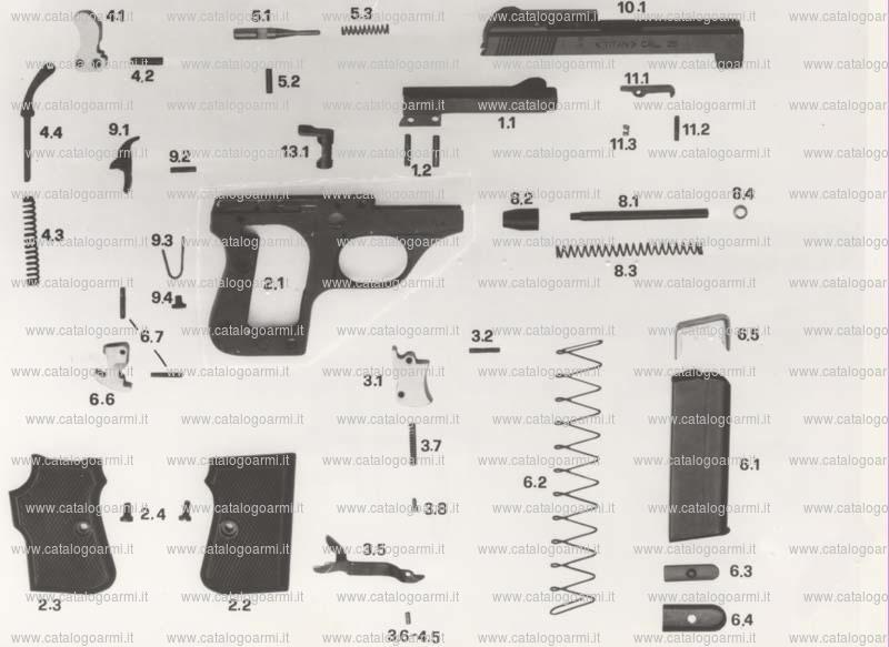 Pistola TANFOGLIO SRL modello GT 27 (888)